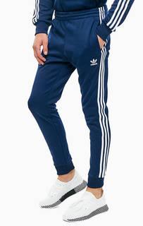 Спортивные брюки синего цвета Adidas