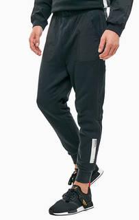 Черные брюки джоггеры в спортивном стиле Adidas