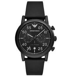 Часы-хронограф с матовым корпусом Emporio Armani