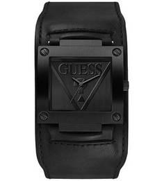 Часы с широким кожаным ремешком Inked Guess