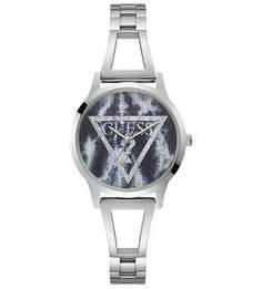 Кварцевые часы с логотипом бренда на циферблате Lola Guess