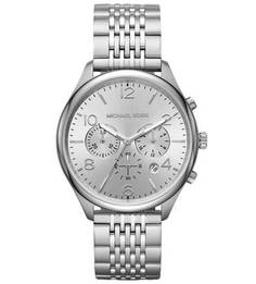 Часы-хронограф с люминесцентными стрелками Merrick Michael Kors