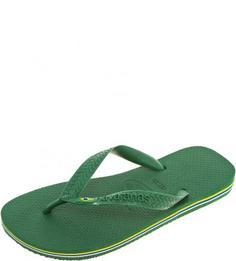 Зеленые пляжные сланцы Havaianas