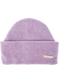 Сиреневая шерстяная шапка Noryalli