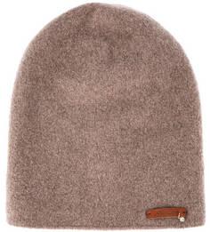 Бежевая шерстяная шапка Noryalli
