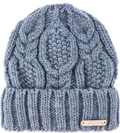 Вязаная шапка с косами Noryalli