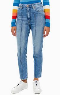 Укороченные синие джинсы зауженного кроя Retro-Slim Wrangler