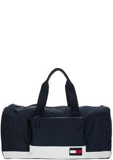Спортивная сумка синего цвета Tommy Hilfiger