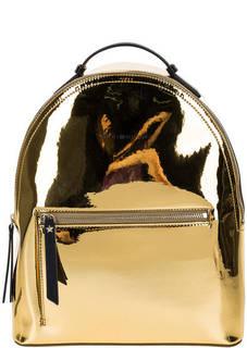 Городской рюкзак золотистого цвета Tommy Hilfiger