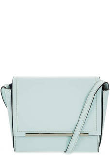 Маленькая кожаная сумка с тонким плечевым ремнем Gianni Conti