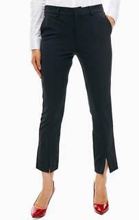 Укороченные брюки черного цвета Guess
