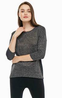 Трикотажный джемпер серого цвета Vero Moda