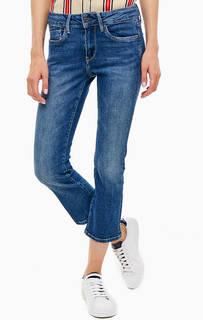Джинсовые капри с заломами Picсadilly Pepe Jeans