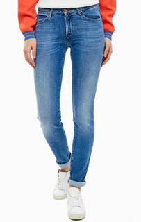 Зауженные джинсы с заломами Body Bespoke Wrangler