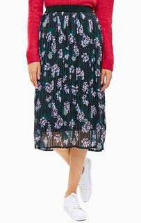 Расклешенная юбка с цветочным принтом B.Young