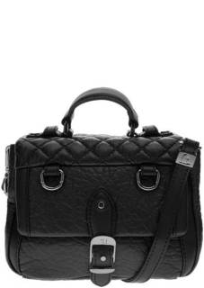 Маленькая сумка черного цвета Trussardi Jeans
