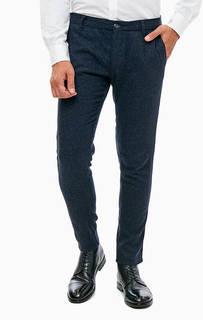 Синие брюки с карманами Trussardi Jeans