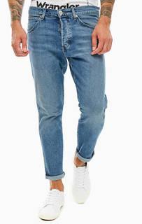 Зауженные синие джинсы с застежкой на болты Slider Wrangler