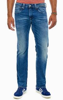 Прямые джинсы с заломами Kingston Zip Pepe Jeans