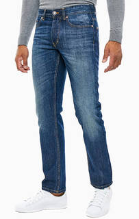 Зауженные синие джинсы со стандартной посадкой United Colors of Benetton