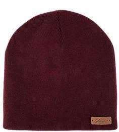 Бордовая шапка с высоким содержанием шерсти Noryalli