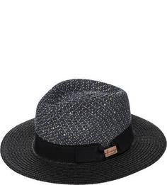 Синяя бумажная шляпа с пайетками Herman