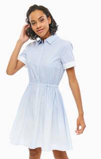 Хлопковое платье-рубашка в полоску Tommy Hilfiger
