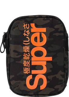 Маленькая текстильная сумка через плечо Superdry