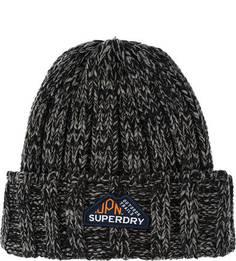 Трикотажная вязаная шапка Superdry