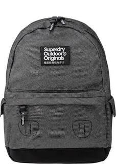 Серебристый рюкзак с карманами по бокам Superdry