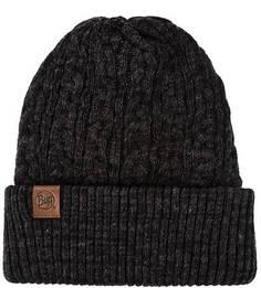 Серая трикотажная шапка Buff