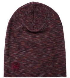 Фиолетовая шерстяная шапка Buff