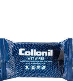 Салфетки очищающие для текстиля с пятновыводителем Collonil