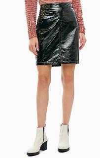 da5a3f20d88 Юбки из искусственной кожи – купить юбку в интернет-магазине