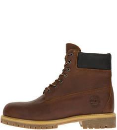Высокие ботинки из натуральной кожи Timberland