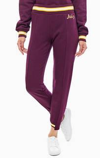 Хлопковые джоггеры фиолетовго цвета Juicy by Juicy Couture