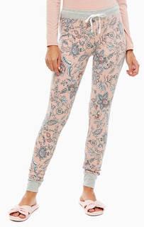 Домашние брюки с цветочным принтом Skiny