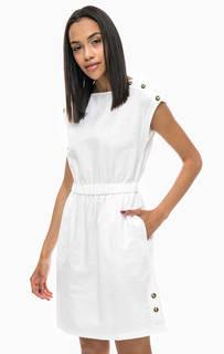 Короткое платье с разрезами на пуговицах Tommy Hilfiger