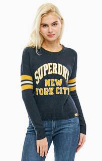 Джемпер с объемной вышивкой Superdry