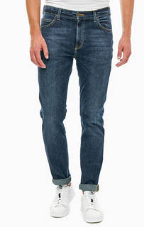 Зауженные джинсы с заломами Rider Lee
