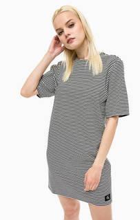 Короткое платье свободного кроя Calvin Klein