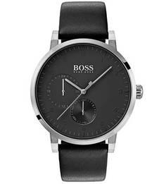 Кварцевые часы круглой формы Hugo Boss