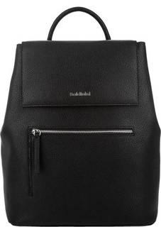Вместительный кожаный рюкзак с широкими лямками Baldinini