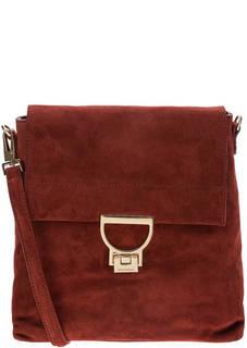 Замшевая сумка-рюкзак Arlettis Coccinelle