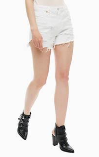 Короткие шорты из денима Diesel