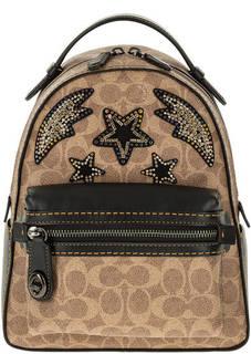 Городской рюкзак с нашивками Coach