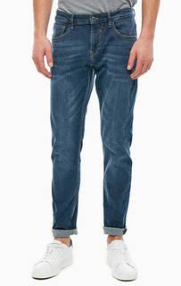 Зауженные синие джинсы Piers Tom Tailor Denim