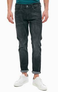 Зауженные темно-серые джинсы Piers Tom Tailor Denim
