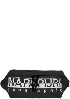 Текстильная поясная сумка с одним отделом на молнии Napapijri