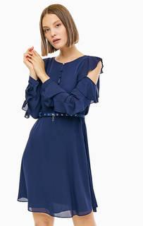 Короткое платье с вырезами на плечах Patrizia Pepe